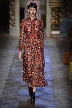 Erdem - Fashion Month Trendspotting: Head-to-Toe Red  - ELLE.com (=)