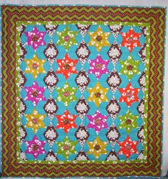 Girls World Vibe by Jennifer Paganelli Quilt by Marsha Moore
