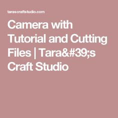 Camera Tutorial Manual Template For Camera Bellows Each Piece