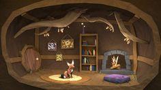 fox den illustration - Google Search