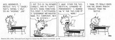 Calvin and Hobbes: Artificial Standard Of Performance