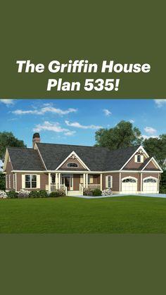 Cottage House Plans, Country House Plans, Dream House Plans, Cottage Homes, Unique Small House Plans, Arched Windows, Farmhouse Plans, House Rooms, Future House