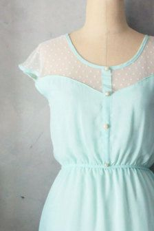 mint dress...I LOVE it!