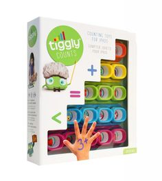 Tiggly Counts preschool math game for the iPad