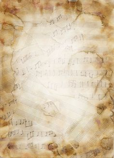 Texture Music Notes by GreenDangersStock on DeviantArt Music Notes Background, Old Paper Background, Background Vintage, Background Pictures, Texture Music, Musik Wallpaper, Music Notes Art, Music Drawings, Music Paper