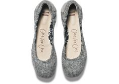 Tweed Lurex Women's Ballet Flats | Simple and sophisticated for day or night.