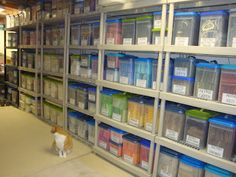 I aspire to be THIS organized!  WOW!