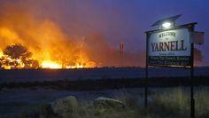 Prayers for 19 firefighters killed battling fast-moving Ariz. wildfire, and prayers for their families.  Photo - AP/The Arizona Republic, David Kadlubowski