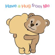 Send a hug to friends, family and loved ones any time. Free online Have A Hug From Me ecards on Hug Month Big Hugs For You, Sending You A Hug, Sending Virtual Hug Gif, Love And Hugs, Send A Hug, Hugs And Kisses Quotes, Hug Quotes, Cute Love Images, Cute Love Gif