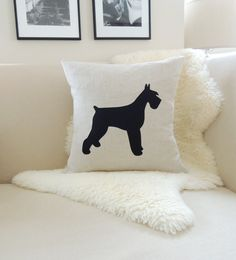 Hey, I found this really awesome Etsy listing at https://www.etsy.com/listing/181142503/giant-schnauzer-pillow-cover-original