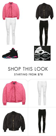 """Love my boy bsf"" by skittles-se ❤ liked on Polyvore featuring Ralph Lauren, J Brand, Retrò, Giorgio Brato and NIKE"