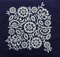 Modrotlačová dečka 26 by modrazlata - SAShE.sk - Handmade Úžitkový textil