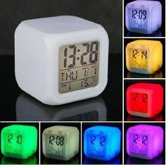 Color Changing Digital Alarm Mood Clock  Minimum of 500 | $6.85 each