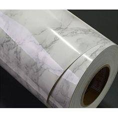 Grey Granite Look Marble Effect Contact Paper Film Vinyl Self Adhesive Peel-stick Wallpaper Counter Top