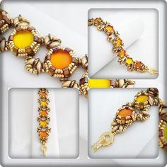 Schéma/pattern LUNA (français & anglais) expliqué étape par étape,explain step by step : Kits, tutoriels bijoux par passion-bijoux
