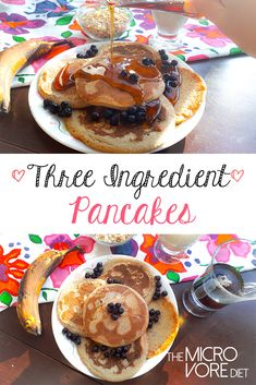 Here is a deliciousand simple gluten-free and vegan pancake recipe that is nutrient-rich and great for health and weight loss! This recipe features