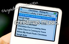 #Things I love about winter - #Christmas Music