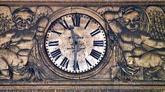 Reims Clock, via Flickr.