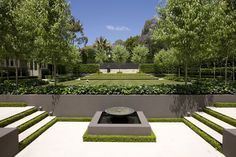 Peter Fudge - Classic French Garden Landscape Design and Installation Modern Landscape Design, Modern Garden Design, Traditional Landscape, Landscape Plans, Garden Landscape Design, Modern Landscaping, Contemporary Landscape, Landscaping Tips, Garden Landscaping
