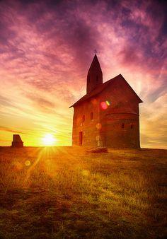 Photo of Nitra - Drážovce - Kostol svätého Michaela Archanjela - Júl 2015 Hdr, Monument Valley, Fine Art, Landscape, Nature, Wordpress, Photography, Travel, Blog
