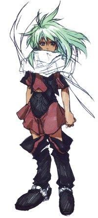 Emeralda from XenoGears