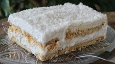 You will not believe that this is a VEGAN Dessert - Jim Michailidis Vegan Sweets, Vegan Desserts, Easy Desserts, Delicious Desserts, Dessert Recipes, Yummy Food, Fun Food, Food Art, Greek Desserts