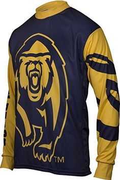 NCAA California Golden Bears Mountain Bike Cycling Jersey Team Medium *** Continue to the product at the image link.