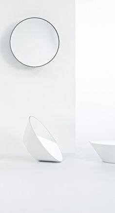Edvard by Deknudt - Verdeeld doorVan Marcke - Design Jean-Francois D Or  #badkamermeubelen #design