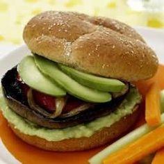 Portabella Burgers with Avocado Spread - Allrecipes.com