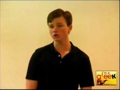 I love that Chris Colfer sang Mister Cellophane from Chicago for his Glee audition.  Also he looks 12. #Gleek