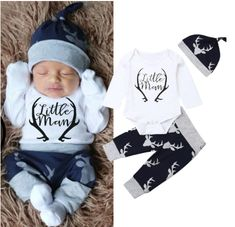 Timall Newborn Baby Cute Letter Print Long Sleeve Rompers Infant Warm Hooded Jumpsuit 0-18M