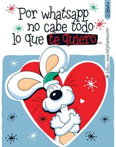 Te quiero mucho y feliz navidad.-onejo guido deseando feliz navidad. © ZEA www.tarjetaszea.com