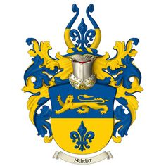 Family Crest (Coat of Arms) Hi-Res (8 inches / 300dpi) Emailed Graphic