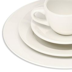 Standard white bistro china (provide by catering)