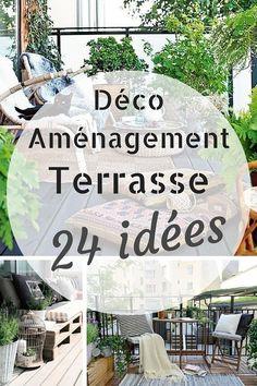 Deco & Aménagement Terrasse : 24 Idées Géniales à Copier !  http://www.homelisty.com/deco-amenagement-terrasse/