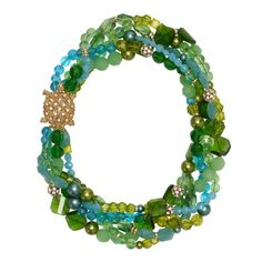 kate spade | necklaces for women - sea glass twisted statement necklace  (this would be a nice addition for the summer)