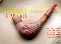 Bird Water Whistle