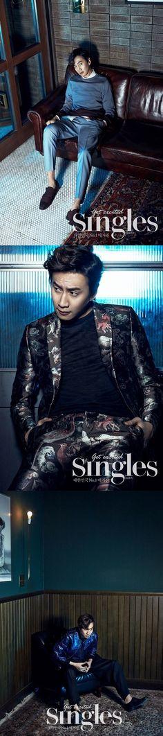 Lee Kwang Soo sheds his 'icon of betrayal' image looking suave and dapper in 'Singles' magazine Lee Kwangsoo, Asian Men, Asian Guys, Korean Actors, Korean Dramas, Kwang Soo, Adventure Movies, Korean Entertainment, Cnblue