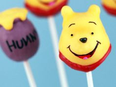 This links to really cute Winnie the Pooh party ideas.