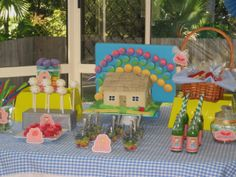 Bubble and Sweet: Wizard of Oz Party - Sophie's 4th Birthday