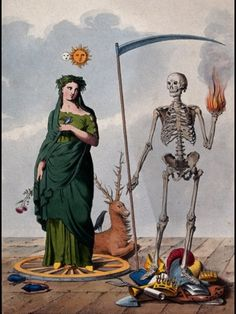 Vanitas c. Dance Of Death, Danse Macabre, Vanitas, Memento Mori, Art And Illustration, Hans Baldung Grien, Rose Croix, Renaissance Kunst, Alchemy Art