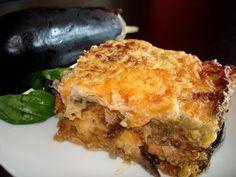 Musaka griega de berenjenas (sin lactosa) ¡impresionante! / Amazing Gree...