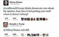 Bahahahahahahahaaa!!!! #TrumpedByTrump