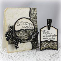 card and tag by Julee Tilman