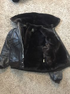 My Jacket Makeover, with real fur Mouton..