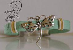 Dragonfly Portuguese Cork Bracelet by SassyHatCF on Etsy, $15.00