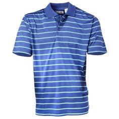 Kartel - BITTERN - stylish men's performance golf shirt pictured here in cobalt