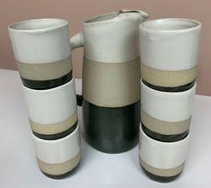 BENNINGTON POTTERS Tea / Sake Pitcher Cup/Mug Set | eBay