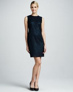 Arbor Lace Dress by T Tahari at Neiman Marcus.