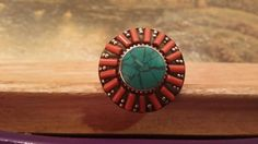 Check out this item in my Etsy shop https://www.etsy.com/listing/224624865/red-coral-ring-circle-ring-cocktail-ring